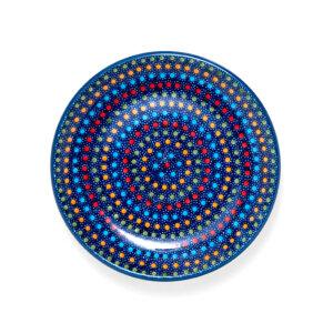 Bunzlauer Keramik Dessertteller 18cm Dekor IZ20 Unikat Modern signiert