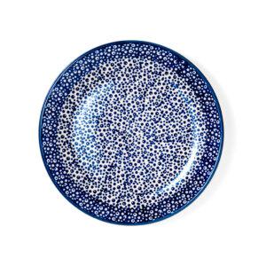 Bunzlauer Keramik Dessertteller 18cm Dekor MAGM Handarbeit - 2.Wahl