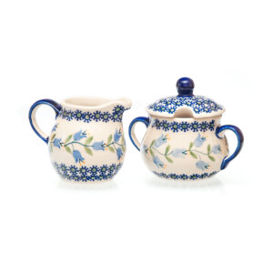 Bunzlauer Keramik Zucker & Milch Set ASD