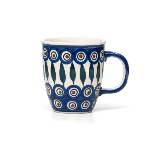 Bunzlauer Keramik Becher Tasse 300 ml Dekor 54