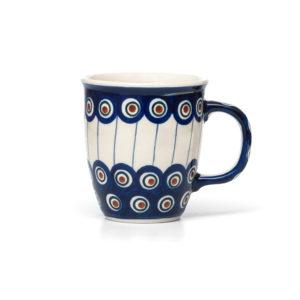 Bunzlauer Keramik Becher Tasse 300 ml Dekor 54A