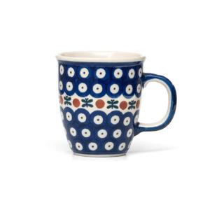 Bunzlauer Keramik Becher Tasse 300 ml Dekor 70