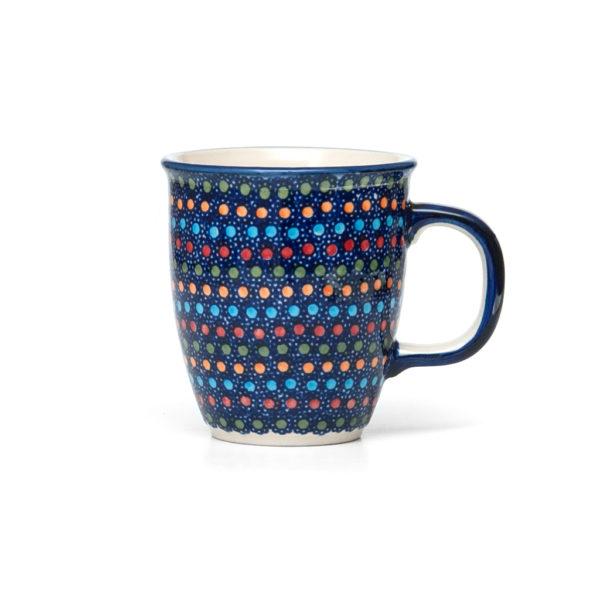 Bunzlauer Keramik Becher 300 ml Dekor IZ20 Unikat Modern signiert