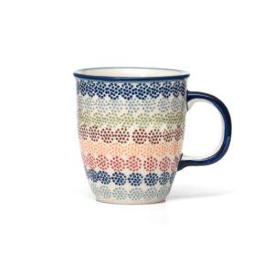 Bunzlauer Keramik Becher 300 ml Dekor AS37 Unikat Modern
