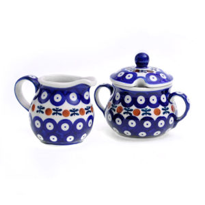 Bunzlauer Keramik Zucker & Milch Set 70