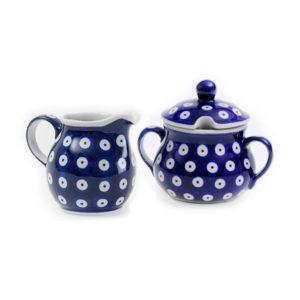 Bunzlauer Keramik Zucker & Milch Set 70A
