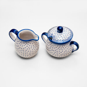 Bunzlauer Keramik Zucker & Milch Set 61A Unikat