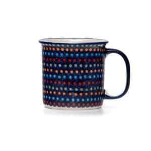 Bunzlauer Keramik Becher 350 ml Dekor IZ20 Unikat Modern signiert