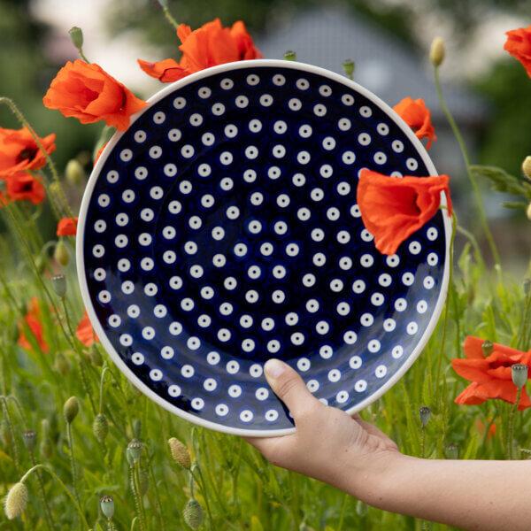 Bunzlauer Keramik Esseller 26cm Dekor 70A