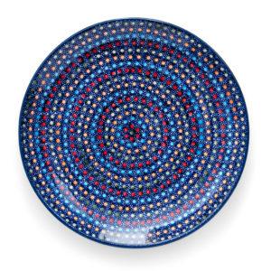 Bunzlauer Keramik Speiseteller Essteller 26cm IZ20 Unikat Modern signiert