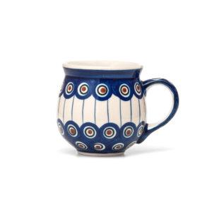 Bunzlauer Keramik Kugelbecher 300 ml Dekor 54A