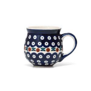 Bunzlauer Keramik Kugelbecher 300 ml Dekor 70