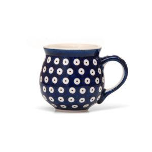 Bunzlauer Keramik Kugelbecher 300 ml Dekor 70A