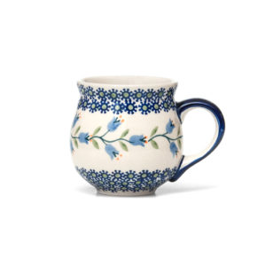 Bunzlauer Keramik Kugelbecher 300 ml Dekor ASD