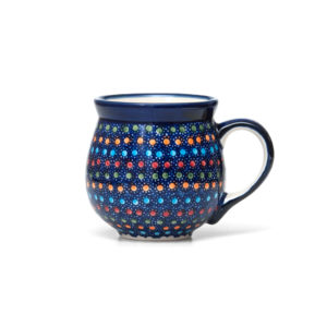 Bunzlauer Keramik Kugelbecher 300 ml IZ20 Unikat Modern signiert
