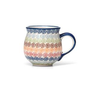 Bunzlauer Keramik Kugelbecher 300 ml AS37 Unikat Modern
