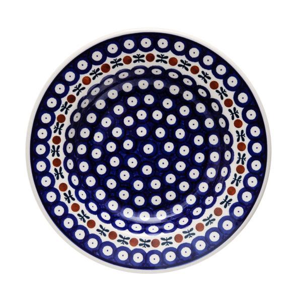Bunzlauer Keramik Suppenteller 24cm Dekor 70