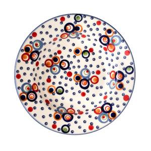 Bunzlauer Keramik Suppenteller 24cm Dekor AS38 Unikat Modern