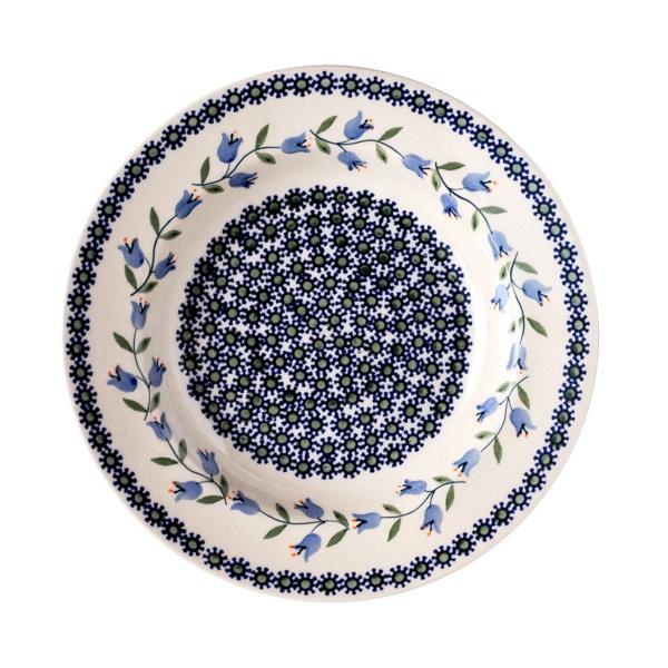 Bunzlauer Keramik Suppenteller 24cm Dekor ASD Landhausstil