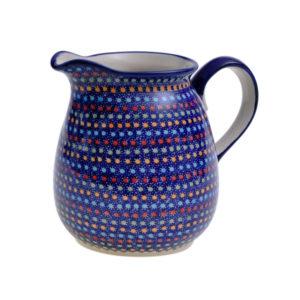 Bunzlauer Keramik Krug 1,5 Liter IZ20 Unikat Modern signiert