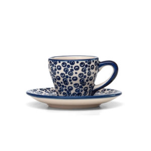 Bunzlauer Keramik Espressotasse mit Untertasse 70ml MAGD