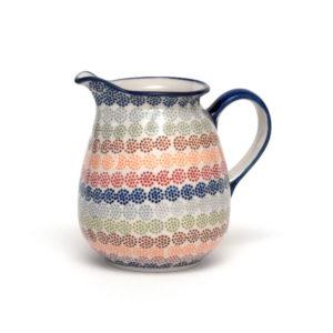 Bunzlauer Keramik Krug 1 Liter AS37 Unikat Modern