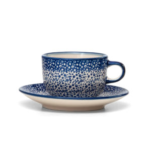 Bunzlauer Keramik Tasse mit Untertasse 200ml MAGM