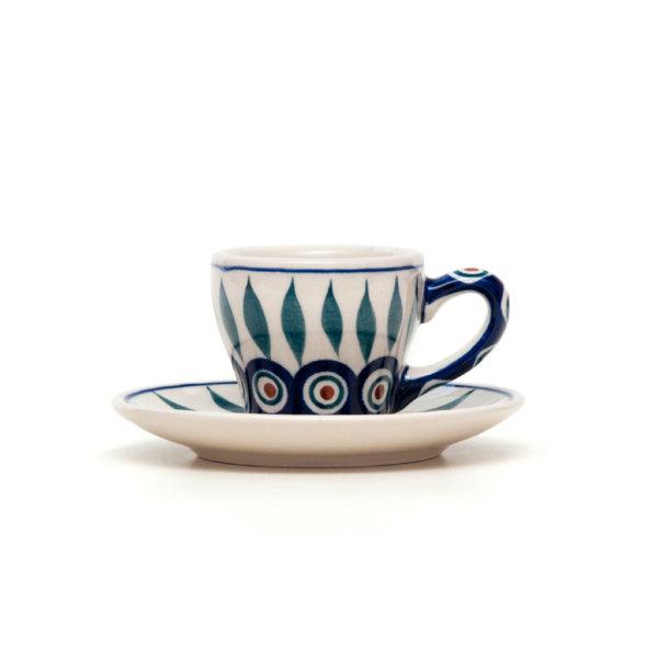 Bunzlauer Keramik Espressotasse mit Untertasse 70ml