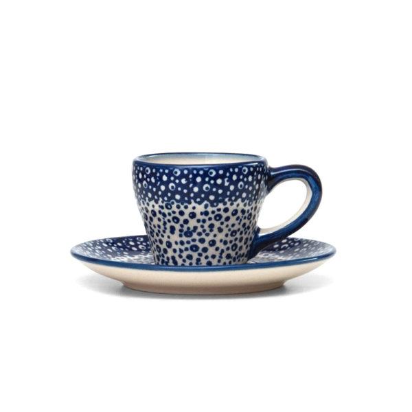 Bunzlauer Keramik Espressotasse mit Untertasse 70ml MAGM