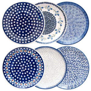 Bunzlauer Keramik Speiseteller Essteller 26cm 6er Set