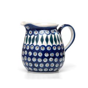 Bunzlauer Keramik Krug 1,5 Liter Dekor 54