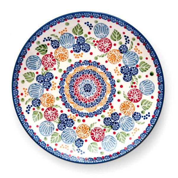 Bunzlauer Keramik Speiseteller Essteller 26cm KOKU Unikat Modern signiert