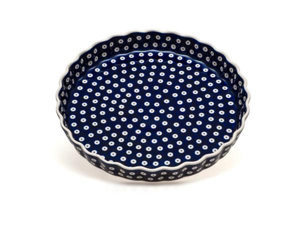 Bunzlauer Keramik Quiche Backform 30cm Dekor 70A Handarbeit