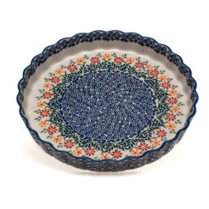 Bunzlauer Keramik Quiche & Kuchenform