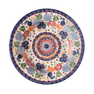 Bunzlauer Keramik Suppenteller 24 cm KOKU Unikat Modern signiert