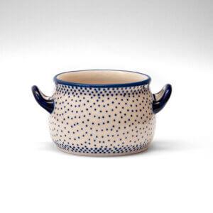 Bunzlauer Keramik Suppentasse 11cm Dekor 61A Unikat Handarbeit
