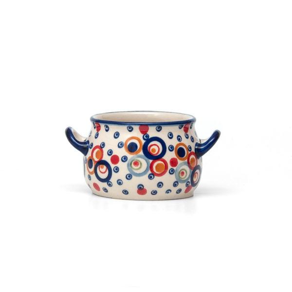 Bunzlauer Keramik Suppentasse 11cm AS38 Unikat Modern Handarbeit