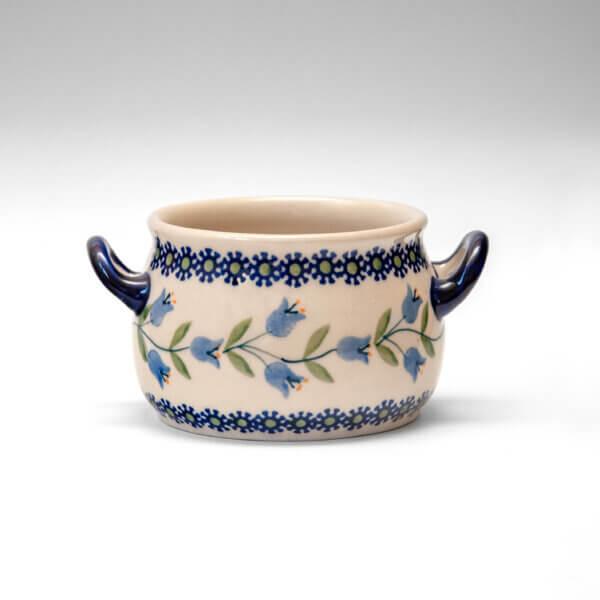 Bunzlauer Keramik Suppentasse 11cm Dekor ASD Handarbeit