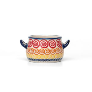 Bunzlauer Keramik Suppentasse 11cm Unikat Modern CMZK Handarbeit