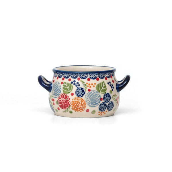Bunzlauer Keramik Suppentasse 11cm KOKU Unikat signiert