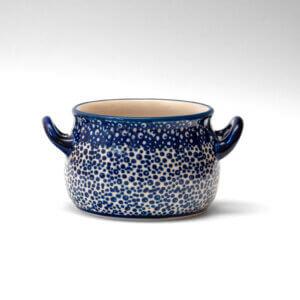 Bunzlauer Keramik Suppentasse 11cm Dekor MAGM Handarbeit