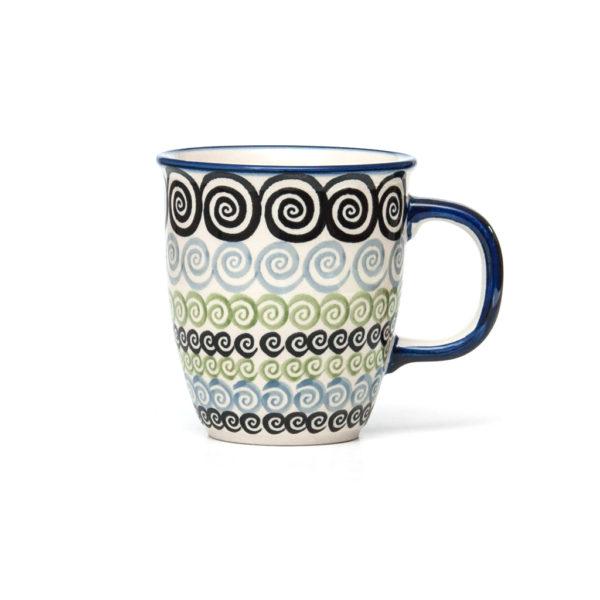 Bunzlauer Keramik Becher 300 ml Dekor CGZC Unikat Modern
