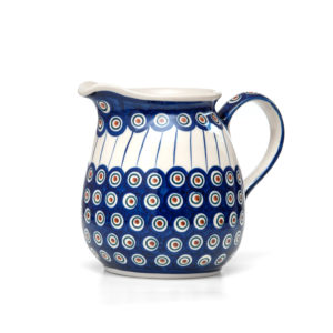 Bunzlauer Keramik Krug 1,5 Liter Dekor 54A