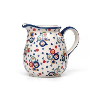 Bunzlauer Keramik Krug 1,5 Liter AS38 Unikat Modern