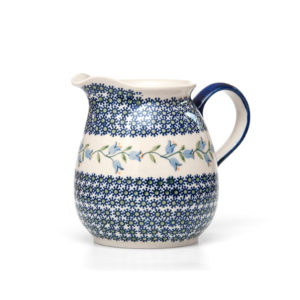 Bunzlauer Keramik Krug 1,5 Liter Dekor ASD
