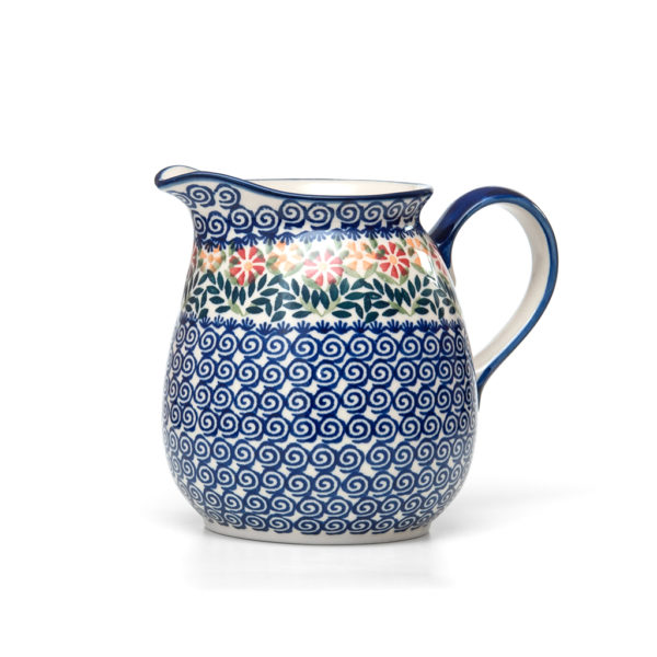 Bunzlauer Keramik Krug 1,5 Liter Dekor JS14 Handarbeit Neu