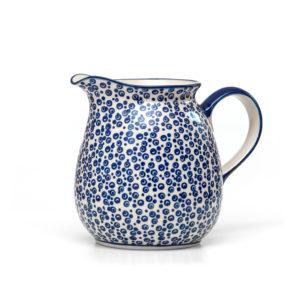 Bunzlauer Keramik Krug 1,5 Liter Dekor MAGD Handarbeit Neu