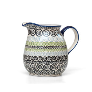 Bunzlauer Keramik Krug 1,5 Liter CGZC Unikat Modern