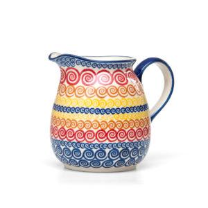 Bunzlauer Keramik Krug 1,5Liter CMZK Unikat Modern