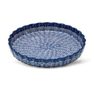 Bunzlauer Keramik Obstkuchenformen Quiche groß 30cm Dekor MAGM